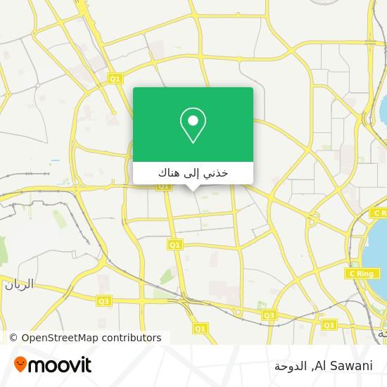 خريطة Al Sawani