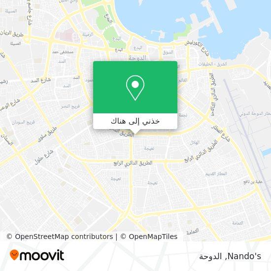 خريطة Nando's