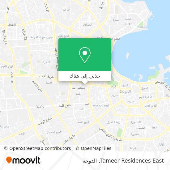 خريطة Tameer Residences East