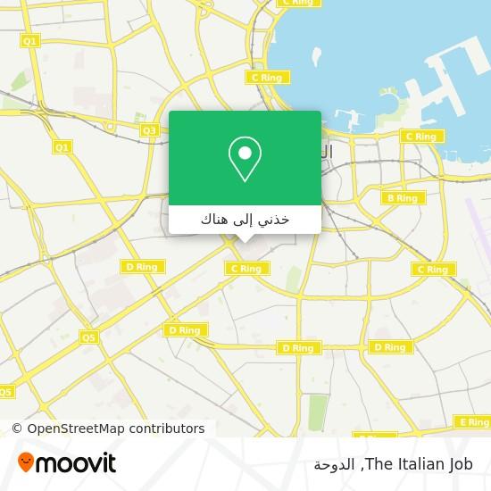 خريطة The Italian Job