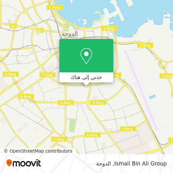 خريطة Ismail Bin Ali Group