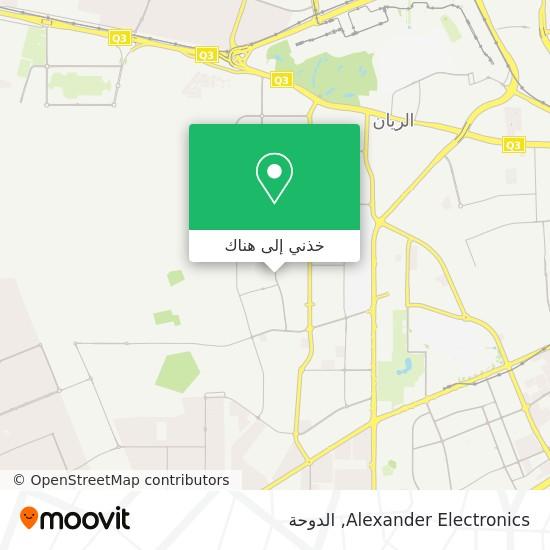 خريطة Alexander Electronics