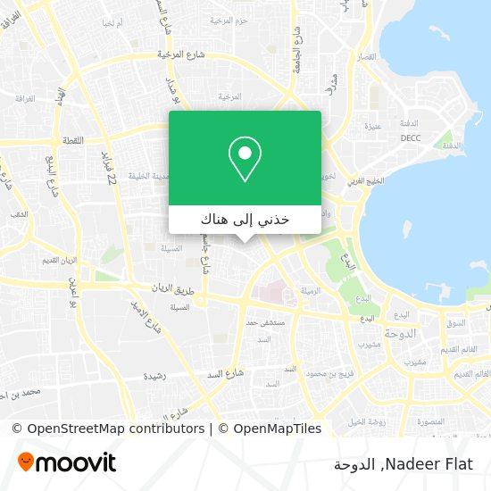خريطة Nadeer Flat