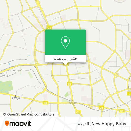 خريطة New Happy Baby