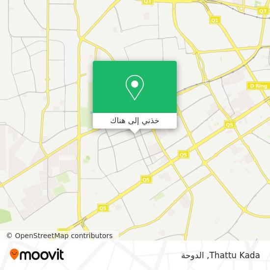 خريطة Thattu Kada