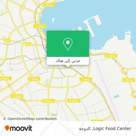 خريطة Logic Food Center