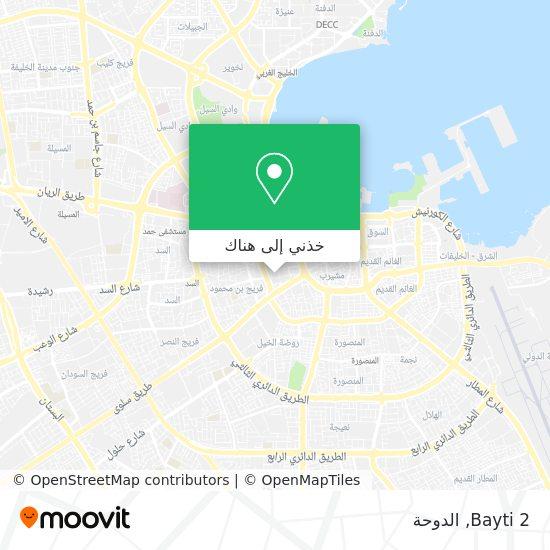 خريطة Bayti 2