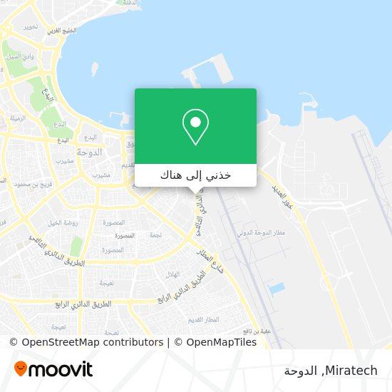 خريطة Miratech