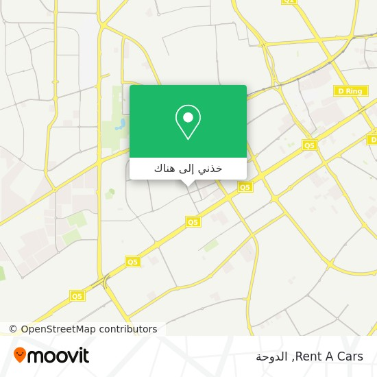 خريطة Rent A Cars
