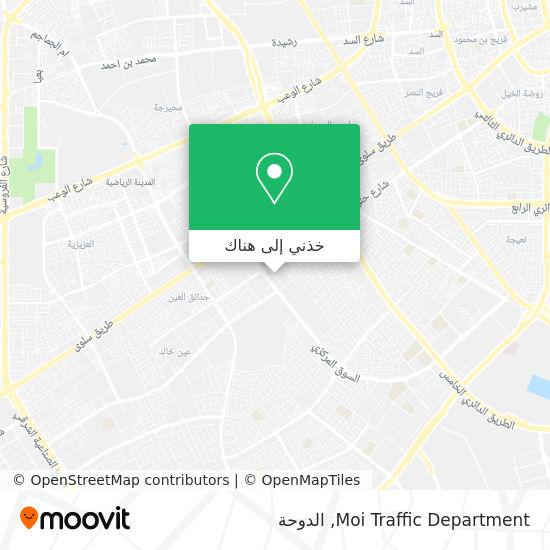 خريطة Moi Traffic Department