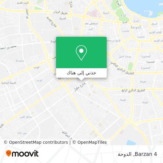 خريطة Barzan 4