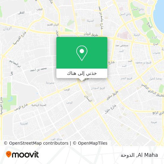 خريطة Al Maha