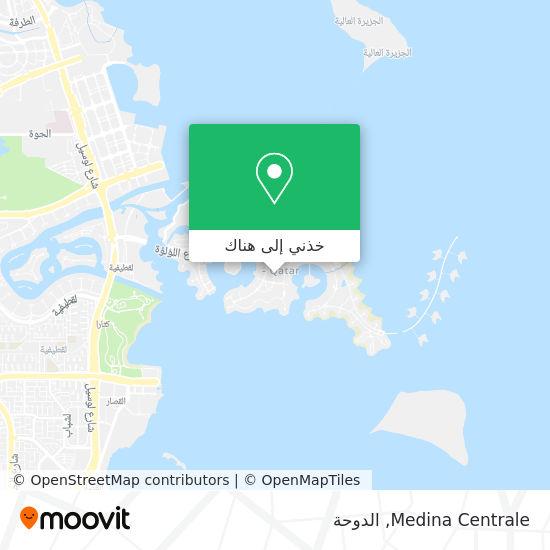 خريطة Medina Centrale