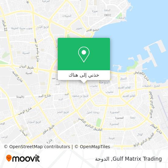 خريطة Gulf Matrix Trading