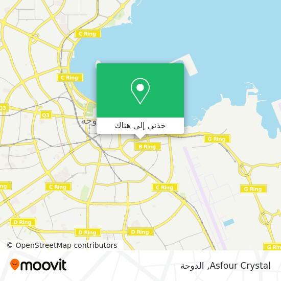 خريطة Asfour Crystal