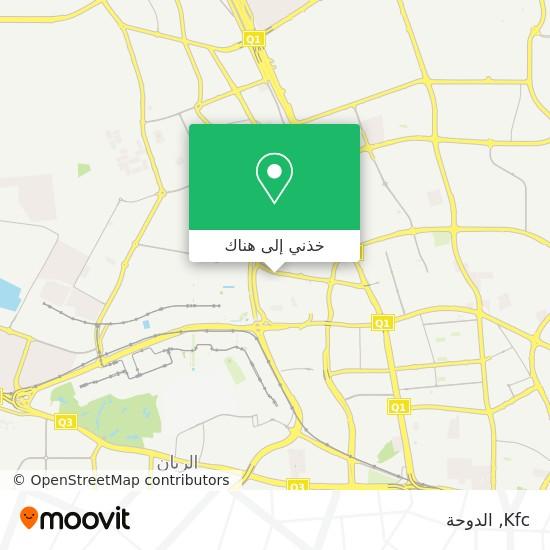 خريطة Kfc