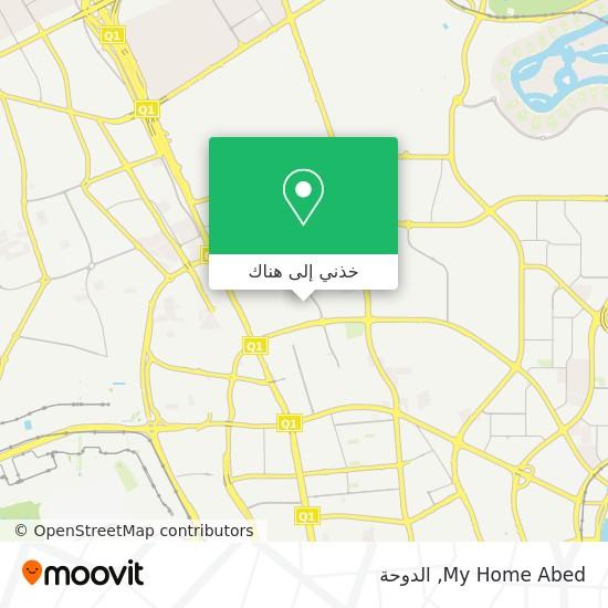 خريطة My Home Abed