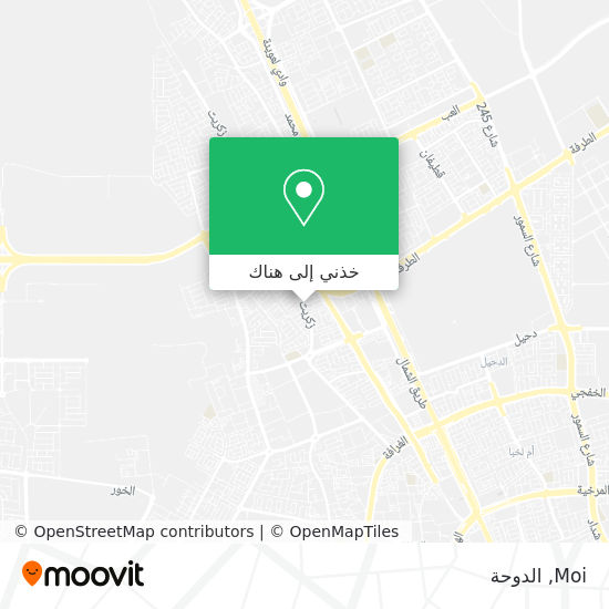 خريطة Moi