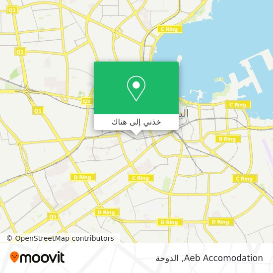 خريطة Aeb Accomodation