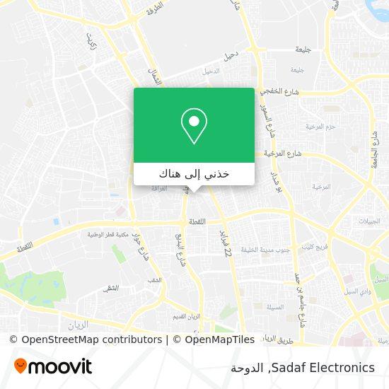 خريطة Sadaf Electronics
