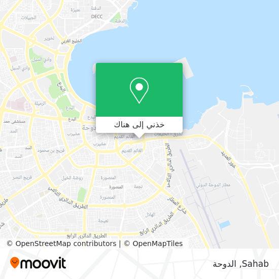 خريطة Sahab