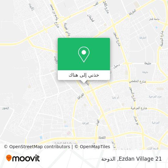 خريطة Ezdan Village 21