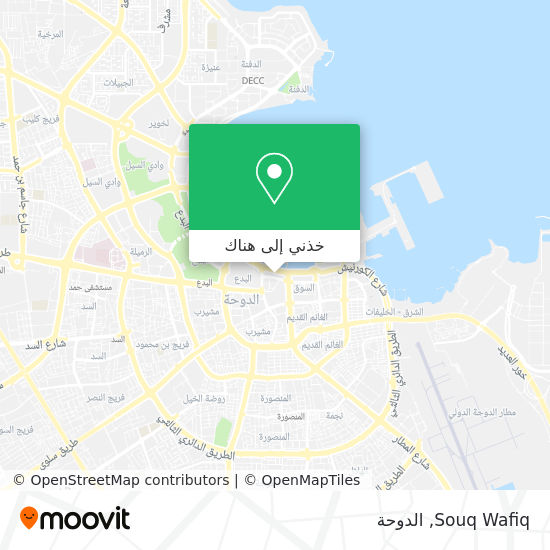خريطة Souq Wafiq