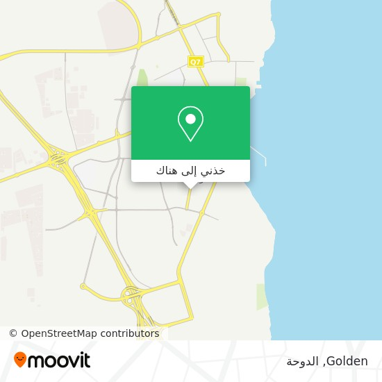 خريطة Golden