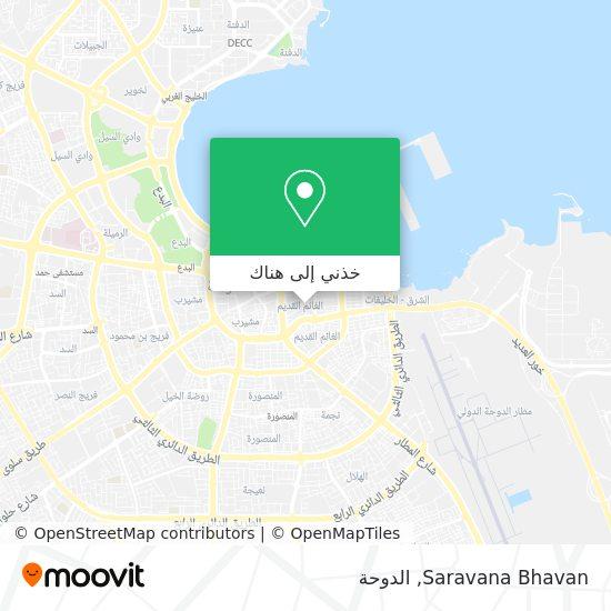 خريطة Saravana Bhavan