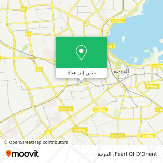 خريطة Pearl Of D'Orient