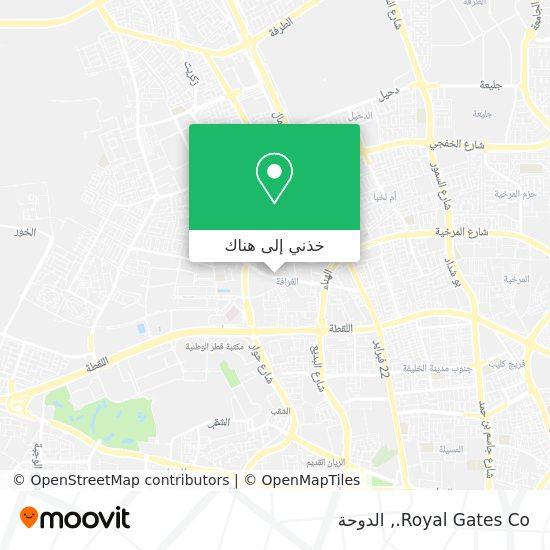 خريطة Royal Gates Co.