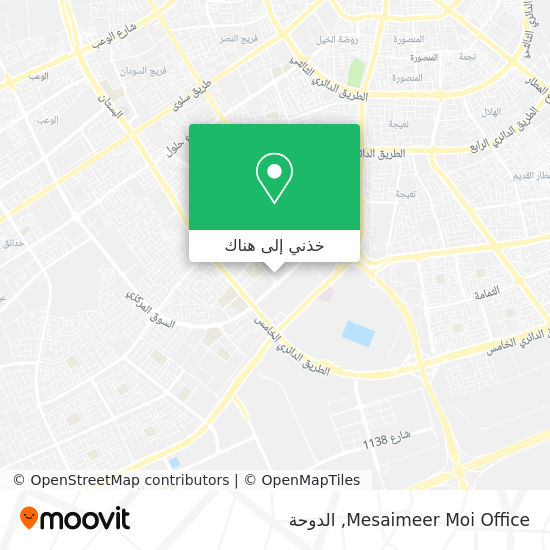 خريطة Mesaimeer Moi Office