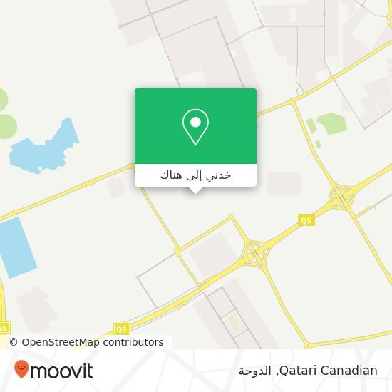خريطة Qatari Canadian