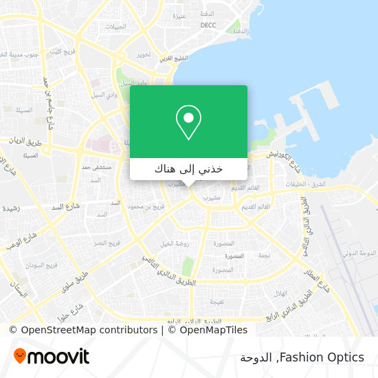 خريطة Fashion Optics