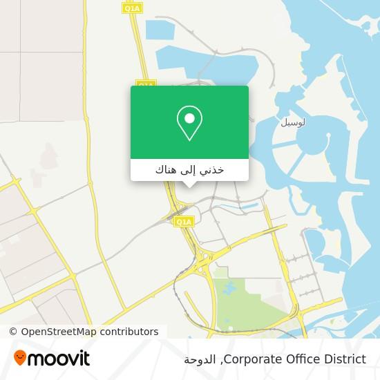 خريطة Corporate Office District