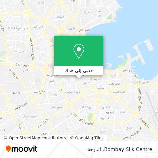 خريطة Bombay Silk Centre