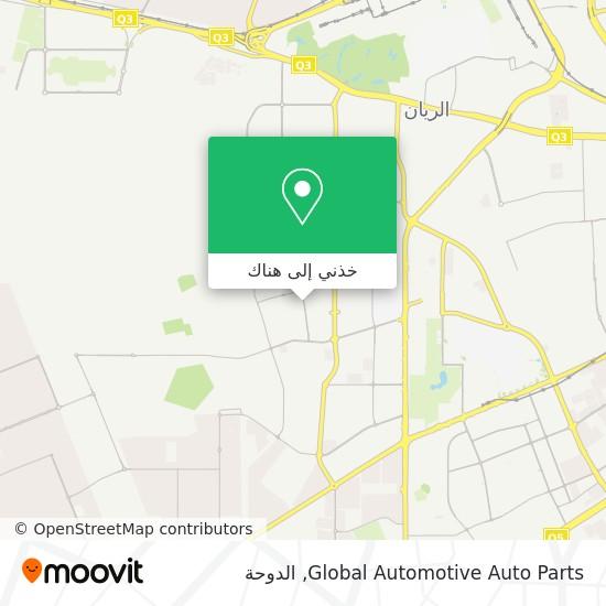 خريطة Global Automotive Auto Parts