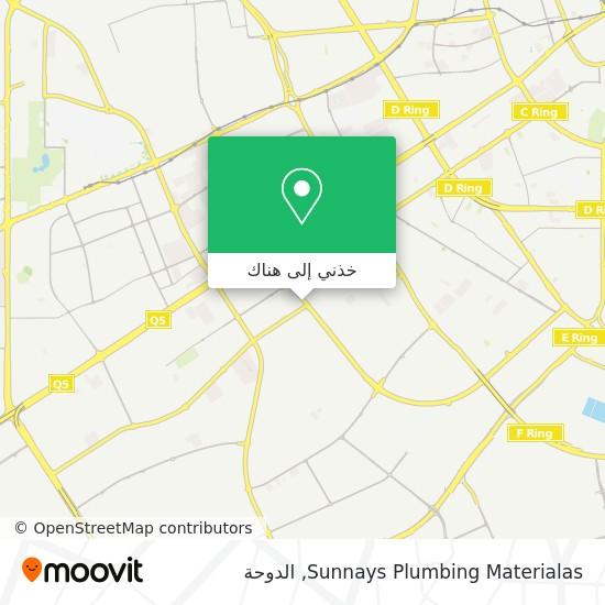 خريطة Sunnays Plumbing Materialas