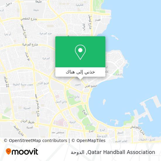 خريطة Qatar Handball Association
