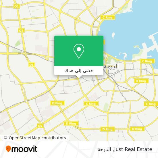 خريطة Just Real Estate