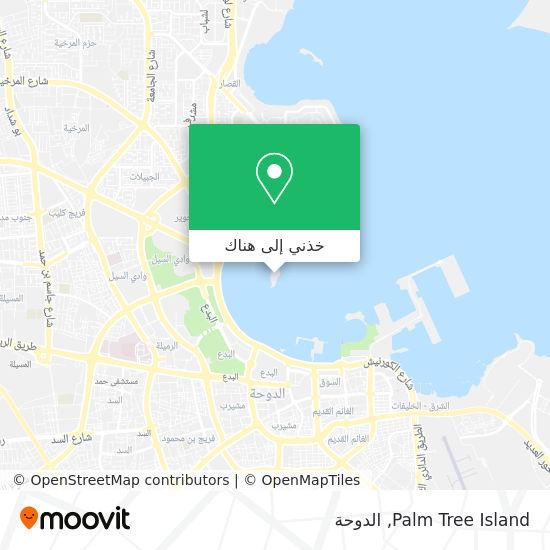 خريطة Palm Tree Island