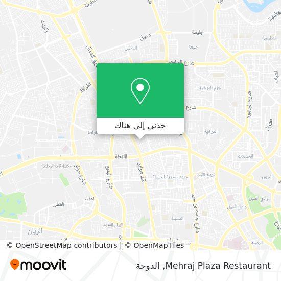 خريطة Mehraj Plaza Restaurant