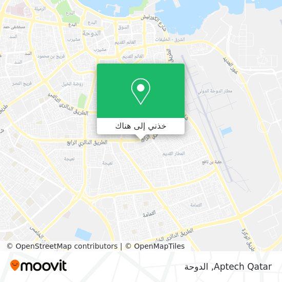 خريطة Aptech Qatar