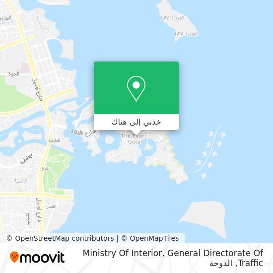 خريطة Ministry Of Interior, General Directorate Of Traffic