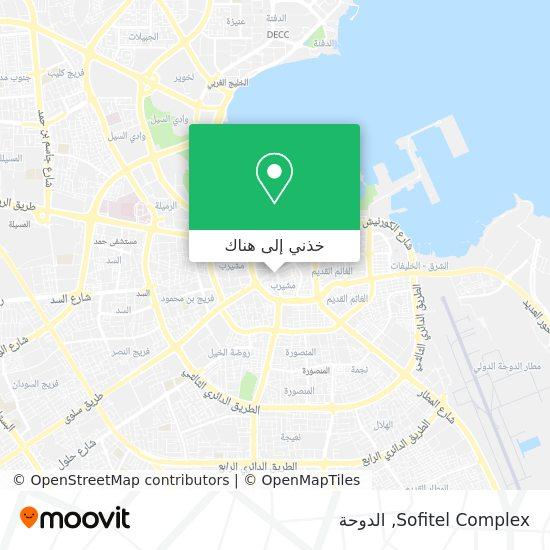 خريطة Sofitel Complex