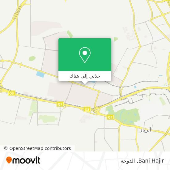 خريطة Bani Hajir
