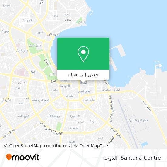 خريطة Santana Centre