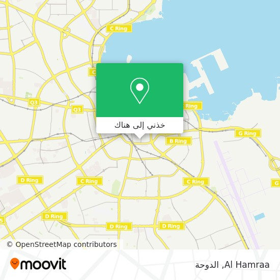 خريطة Al Hamraa