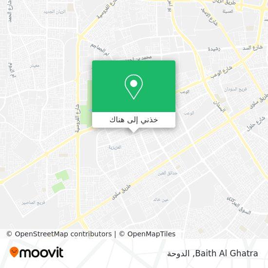 خريطة Baith Al Ghatra