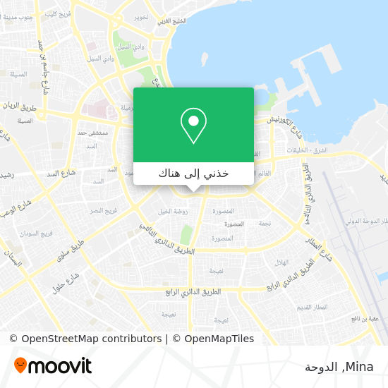 خريطة Mina
